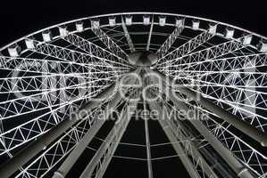 The Gigantic Panoramic Wheel, Brisbane, Australia, August 2009