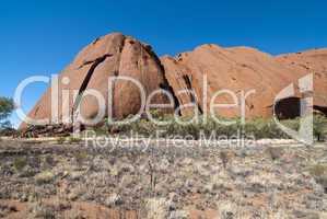Uluru, Ayers Rock, Northern Territory, Australia, August 2009