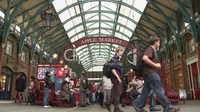 London: Covent Garden Market (Totale)
