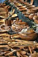 Wood Dishes, Lucca, Italy