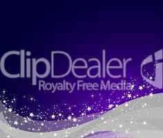 violett silberner weihnachtshintergrund