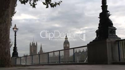 London: Abendstimmung an der Themse mit Blick auf den Big Ben (2)