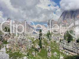 Dolomites Mountains, Italy, Summer 2009