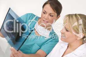 Concerned Female Medical Team