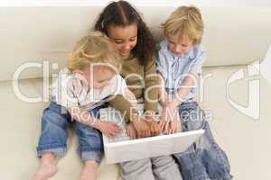 Kids On A Computer