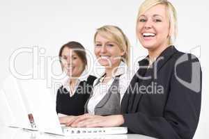 Happy Women In Business
