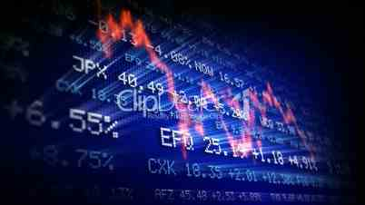 Stock exchange trading board