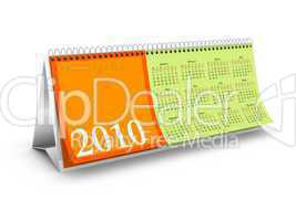 Overview page Desktop Calendar
