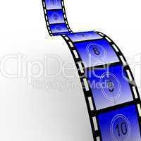 Countdown film strip 02
