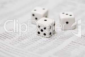 Würfel auf Wechselkursen