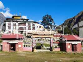 Kloster Tengboche, Nepal