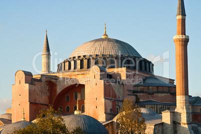 Hagia Sophia in Istanbul, Türkei, Turkey