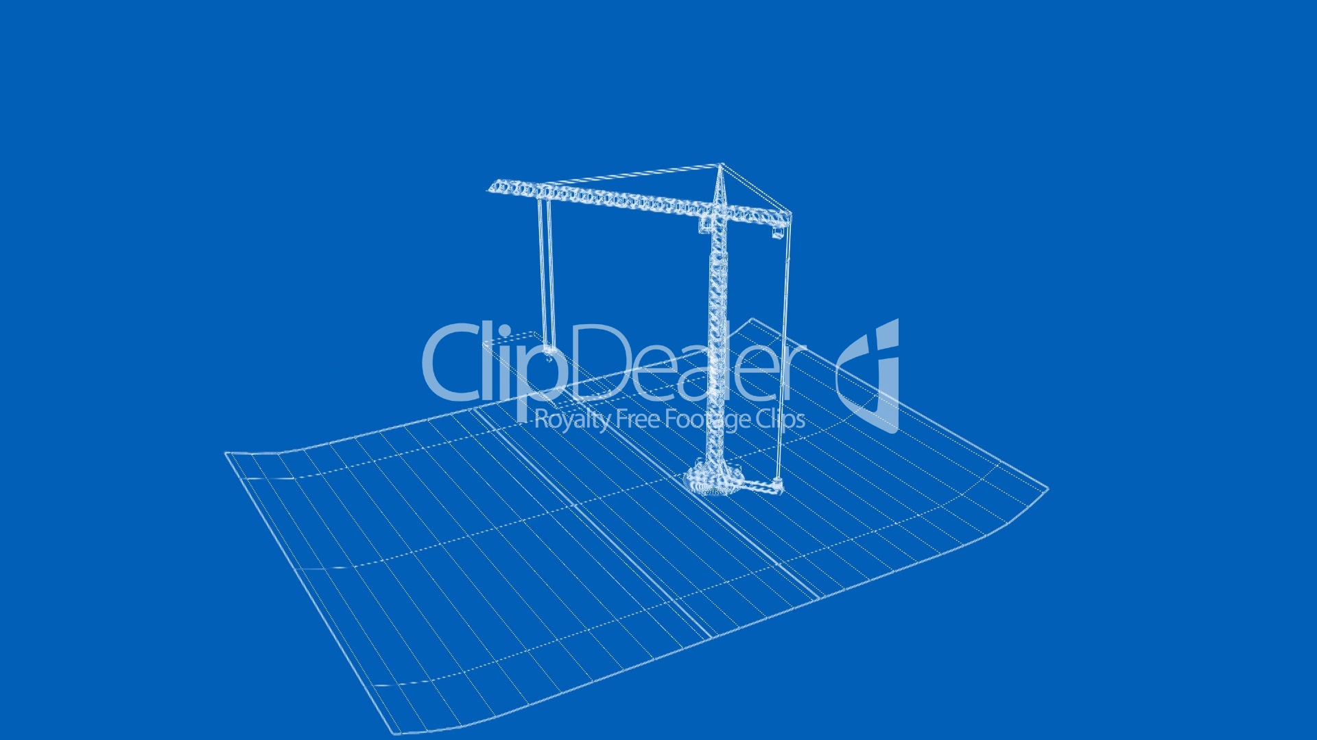 Officeapartment being built on a blueprint paper royalty free royalty free videos malvernweather Choice Image