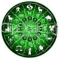 sternzeichen scheibe - horoskop