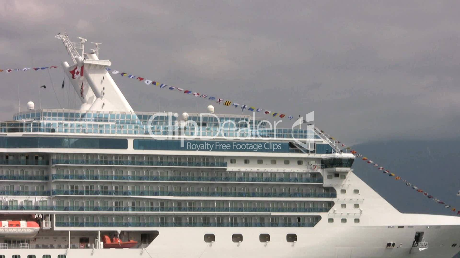 Flags On A Cruise Ship Royaltyfree Video And Stock Footage - Us flagged cruise ships