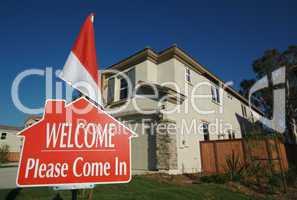Welcome, Please Come In Sign