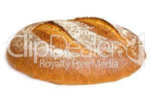 Frisches Brot schneiden