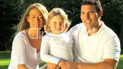 Eltern un Tochter