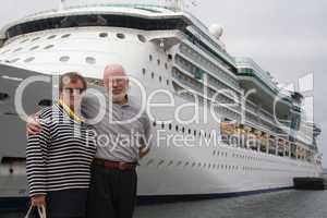 Senior Couple Ready for Another Cruise