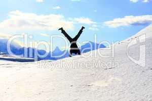 Freestyle im Schnee
