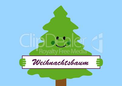 Gruß Weihnachtsbaum