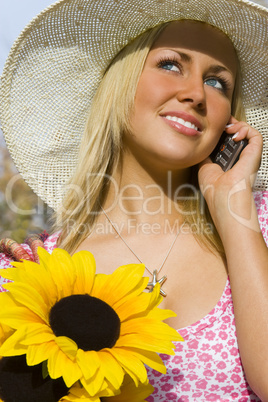 Phonecall and Flowers