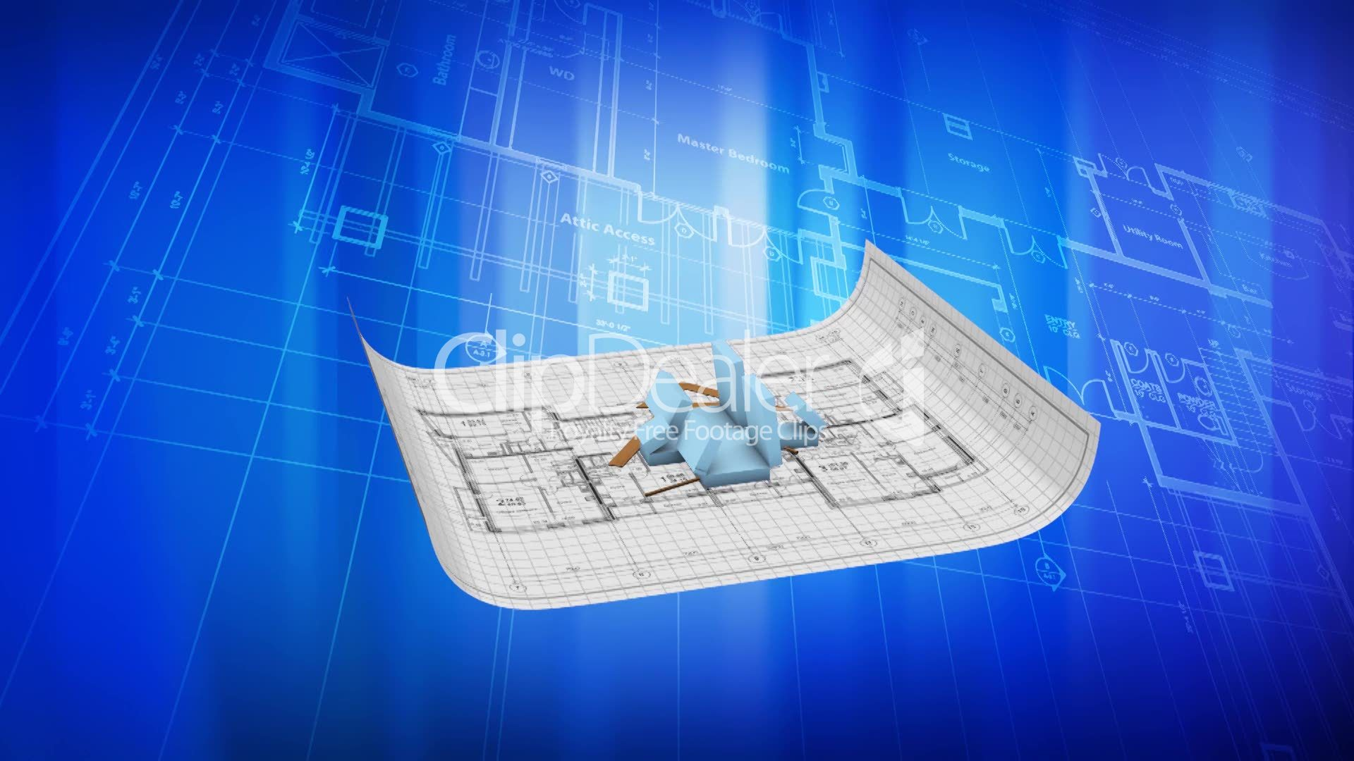 House being built on a blueprint paper royalty free video and paperwork malvernweather Image collections