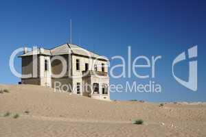 Ruine in Kolmanskop, Namibia