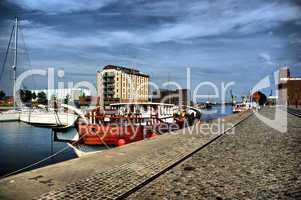 Wismar Hafenansichten HDR
