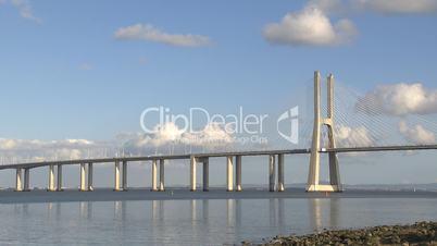 Large bridge time lapse