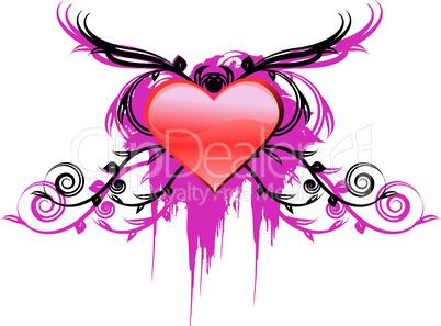 design element for valentine's day