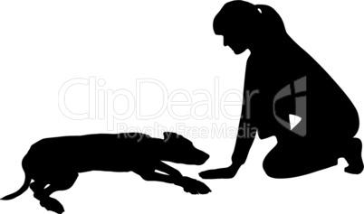 Hundetraining (Obedience): Befehl: Legen