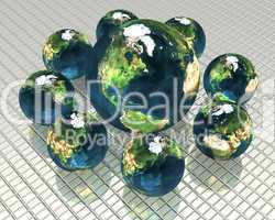 3d models of the earth