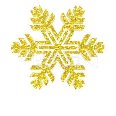 3d christmas snowflake