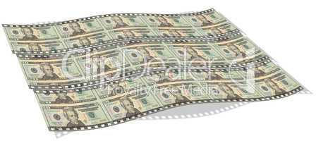 film with us dollar notes