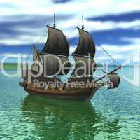 Sailing vessel