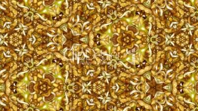 Organic kaleidoscope from growing alfalfa vegetables 9b
