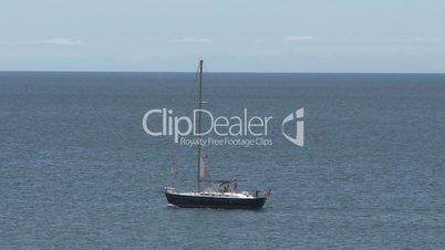 sailboat sailing in vacations