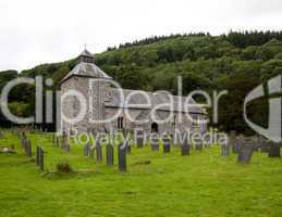Melangell Church in North Wales
