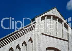 Hausfassade eines historischen Gutshofes