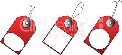 3 vector price tags