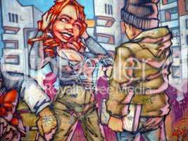 Graffiti - Street love