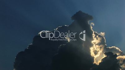HD clouds time lapse