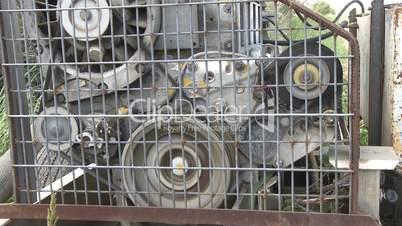 Diesel engine pump for irrigation in farm