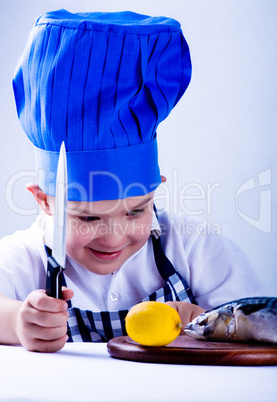 young cook