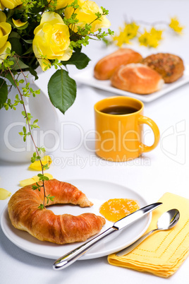 yellow breakfast