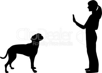 Hundetraining (Obedience), Befehl Steh und Bleib!