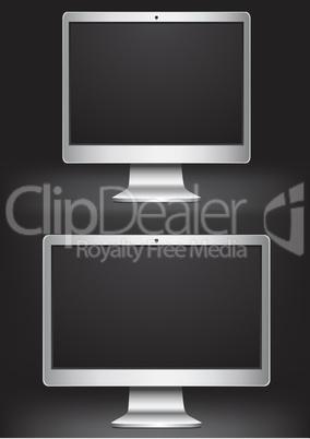Monitors_silver