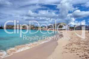 Saint Maarteen Coast, Dutch Antilles