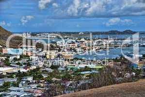 Saint Maarten Beach, Dutch Antilles